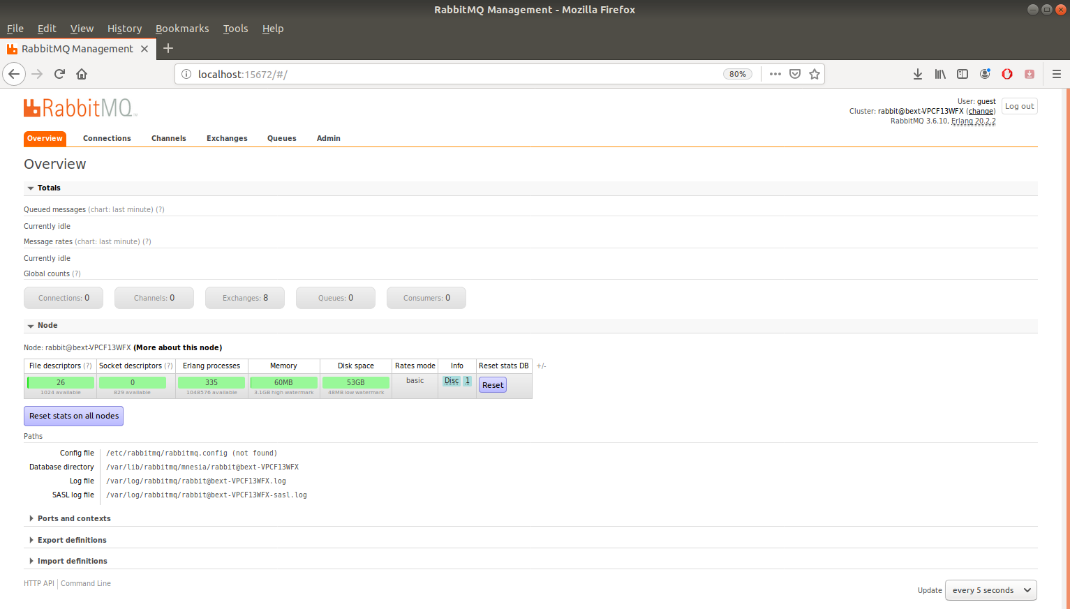 Holocron: Erlang RabbitMQ, Instalación Erlang Ubuntu18 04