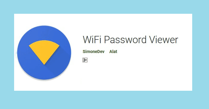 cara melihat pass wifi yang tersambung