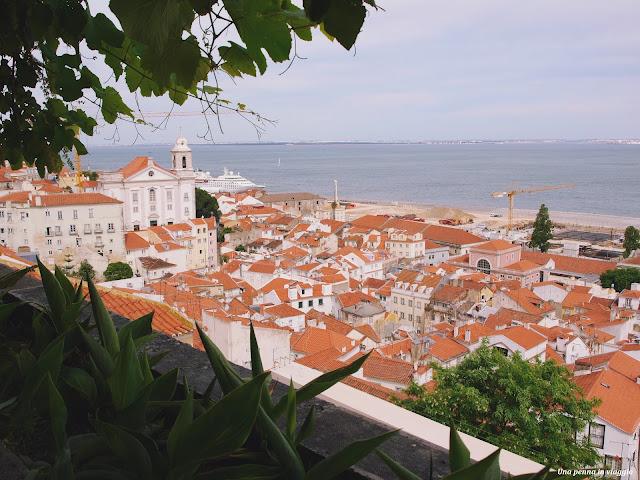 Lisbona panoramica miradouro