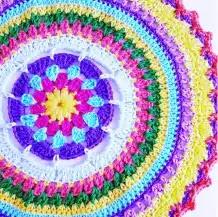 Tapete Colorido a Crochet
