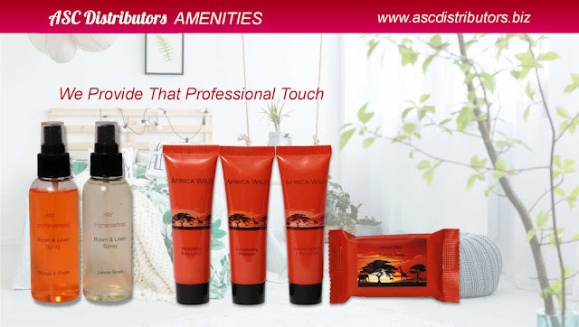 Hotel Amenities - ASC Ditributors - Africa Wild & Room and linen spray
