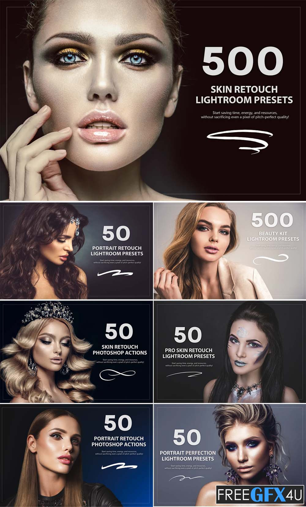 1600 + All In One Retouch Bundle