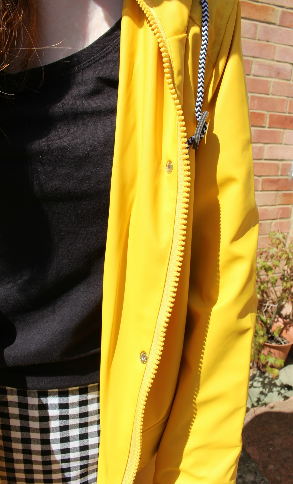 yellow rain mac cheap UK