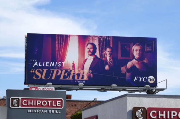 Alienist Superb FYC billboard