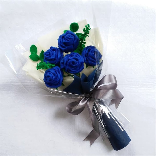 Kumpulan Gambar Buket Bunga Asli dan Bahan Flanel