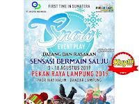 Sensasi Bermain Salju di Pekan Raya Lampung, Kuy Buruan Diagendakan!!!