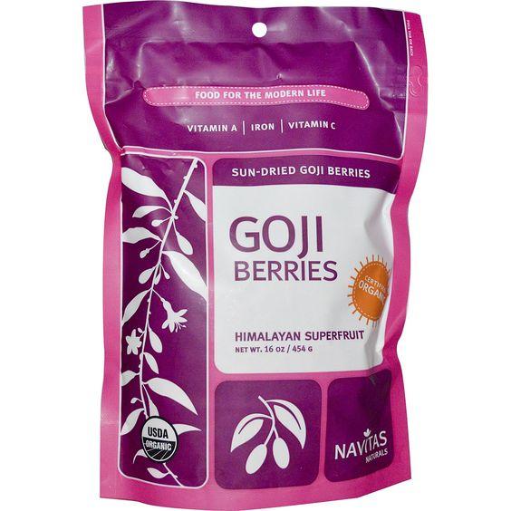 Navitas Organics, Organic, Goji Berries, 16 oz (454 g)  Navitas Organics, Organic, Goji Berries, 16 oz (454 g)  Navitas Organics, Organic, Goji Berries, 16 oz (454 g) Navitas Organics, Organic, Goji Berries