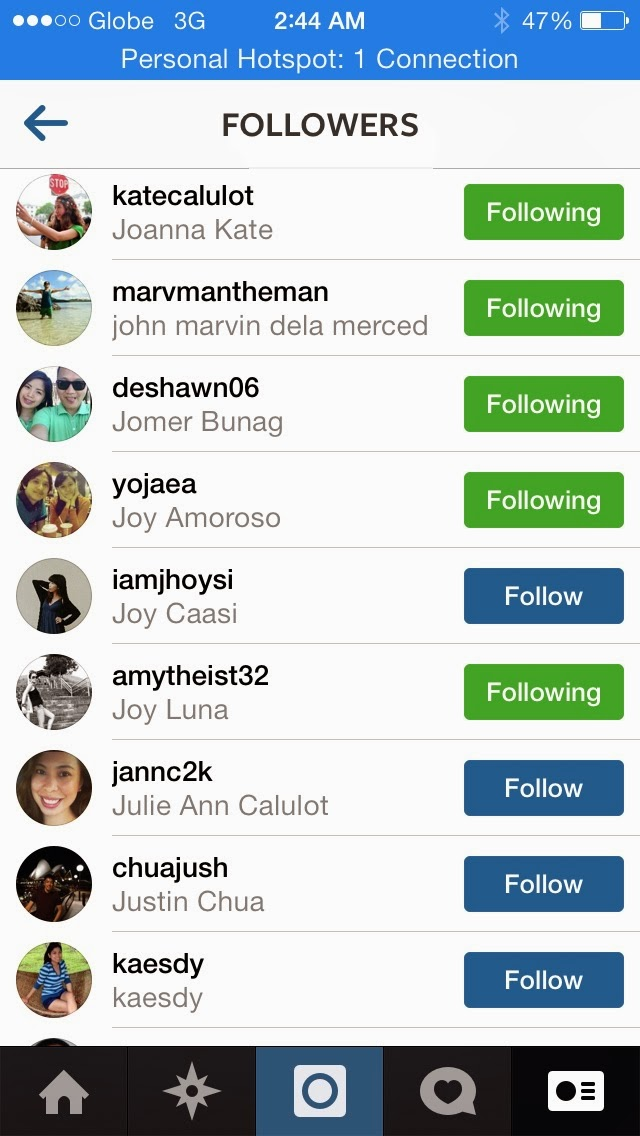 How to remove followers without blocking them on Instagram