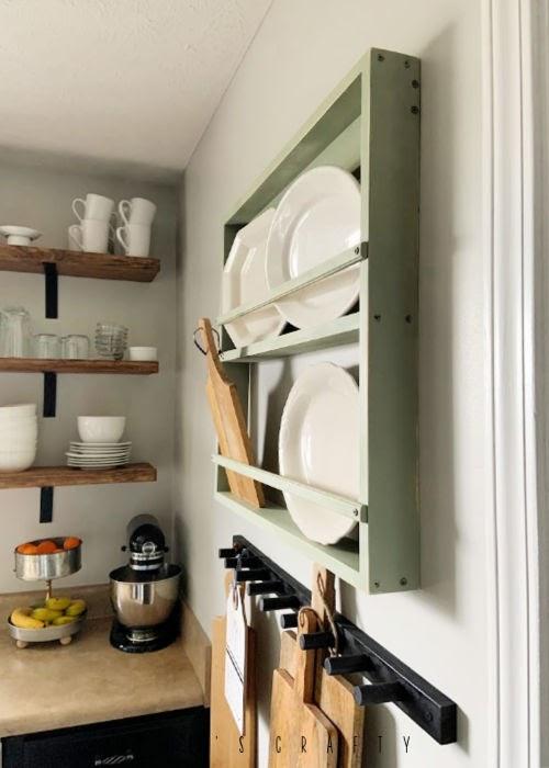 she s crafty wall mounted dish rack