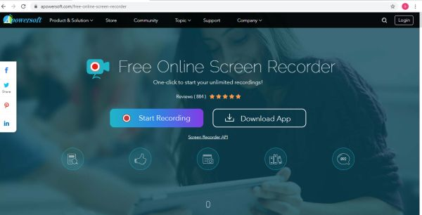 Apowersoft Free Online Screen Recorder - Tools to Record your screen
