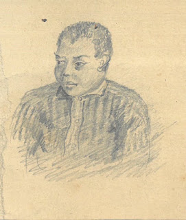 Sketch of Henry Turner by Henry B. Atherton, ca. 1862