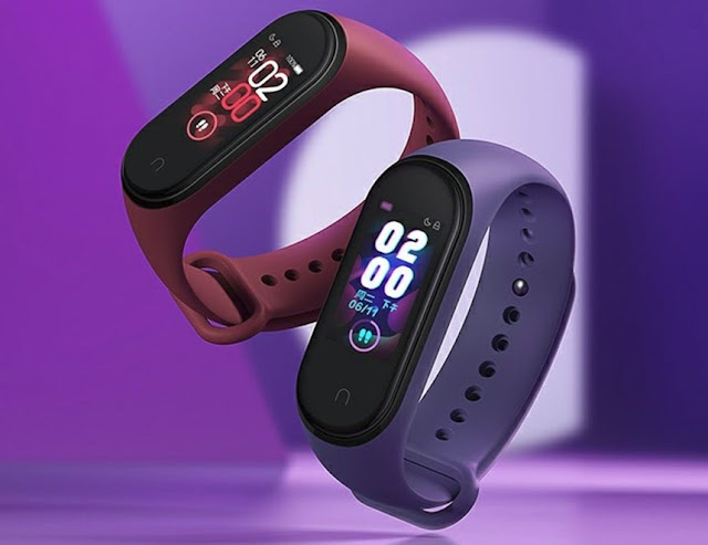 Xiaomi Launched Mi Band 4 With Coloured OLED Display