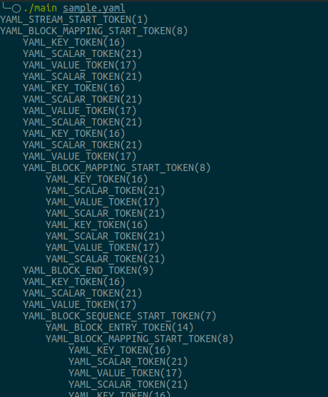 Yaml Syntax Processing In C With Libyaml And Lemon Parser Generator