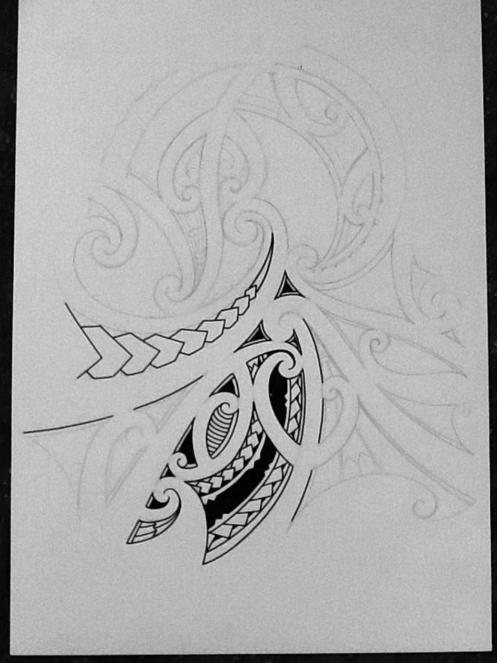 Maori Inspired Tattoo Designs: Maori Inspired Tattoo Designs And Tribal Tattoos Images