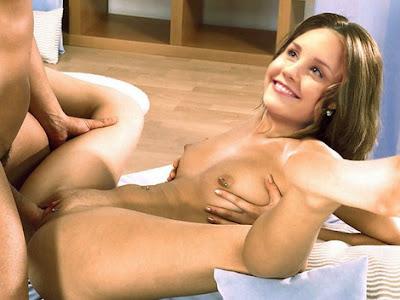 naturist family hot tub