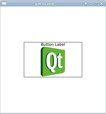 Qteveloper: qml example: add image on button
