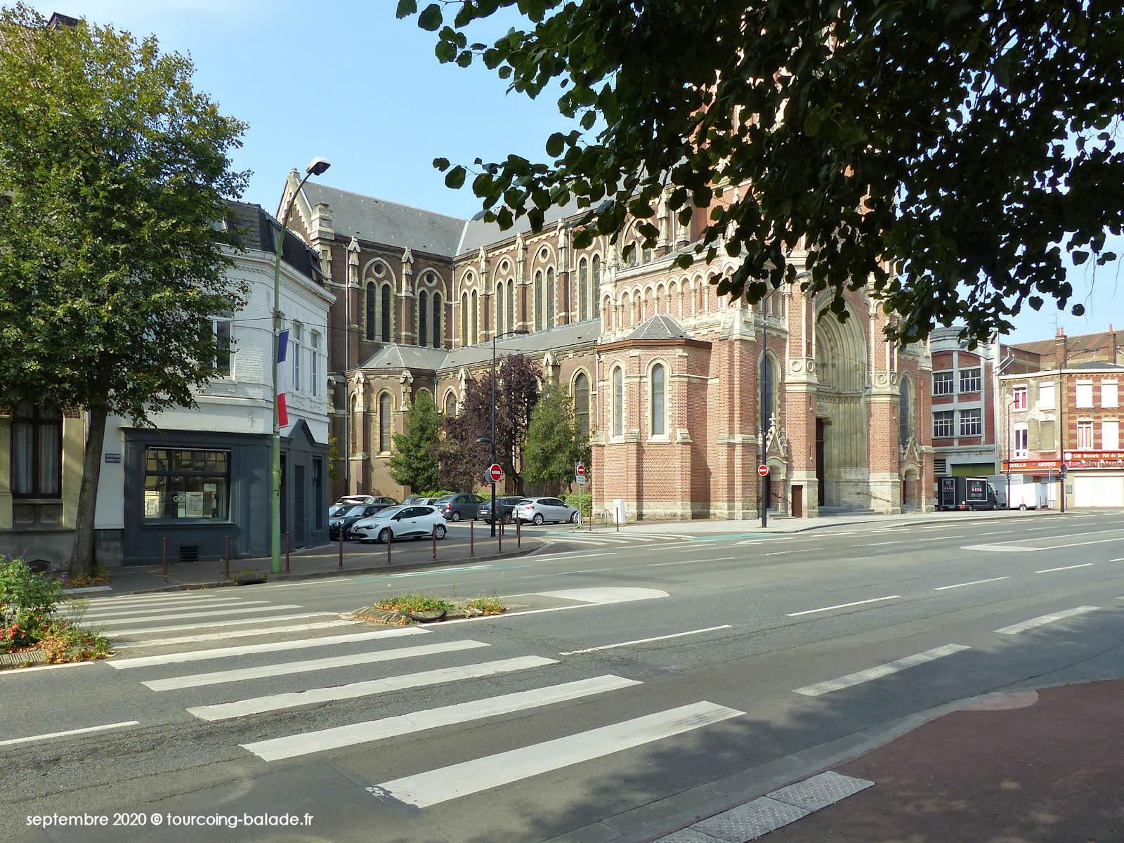 Boulevard Gambetta et Rue Saint Vincent de Paul, Tourcoing 2020