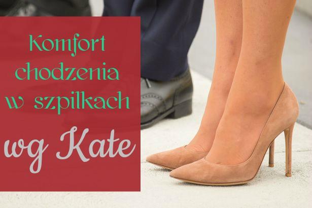 Sekret chodzenia w szpilkach według księżnej Kate