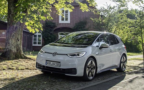 Volkswagen ID3 é o 3º carro elétrico mais vendido - Europa
