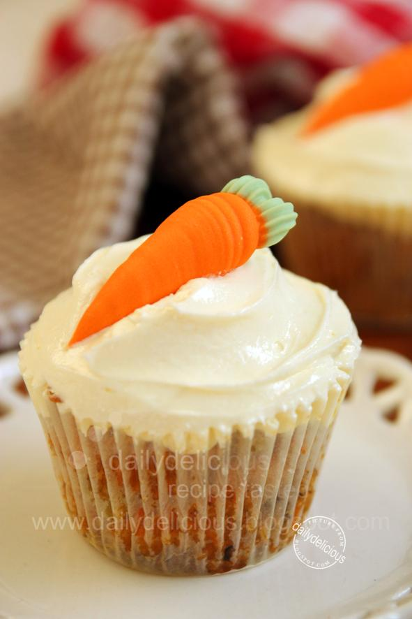 Egg Carrot Cake Recipe