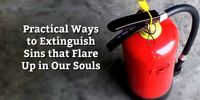 Practical Steps for Dealing with Sins that Burn our Souls