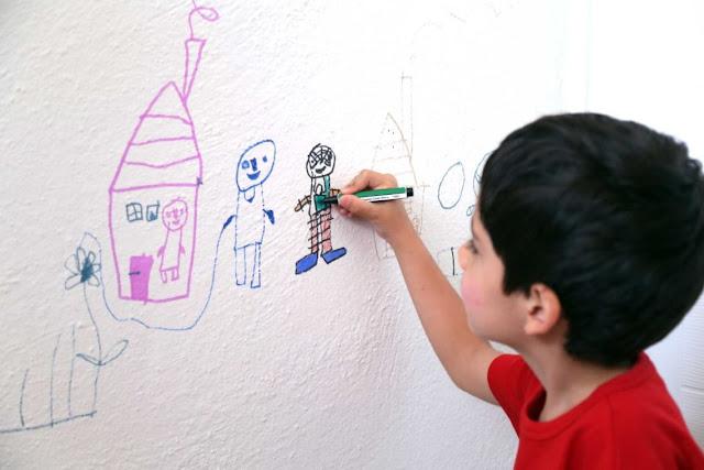 Mengasah Kreatifitas Dari Sebuah Coretan Bebas Seorang Anak