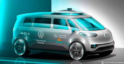 Volkswagen tests its self-driving truck this summer