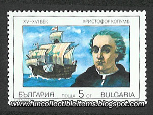 Christopher Columbus Stamp