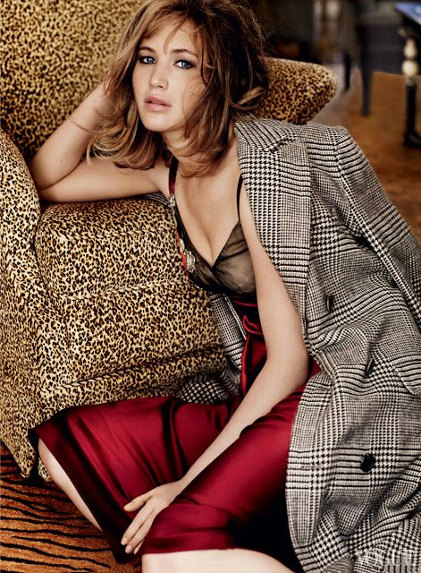Jennifer Lawrence for Vogue  US September 2013