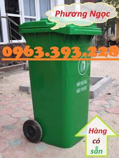 Thùng rác công nghiệp 120L nắp kín, thùng rác công cộng,thùng rác 120L nhựa HDPE Z1962517443550_4d3d5bced787bfa6c8cb61ec45bdc18d
