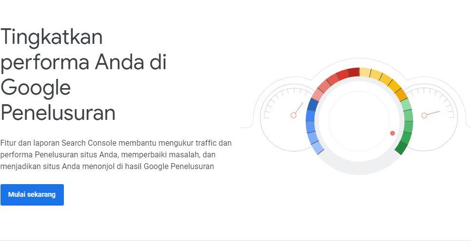 Cara Daftar dan Verifikasi  ke Google Search Console Webmastertools