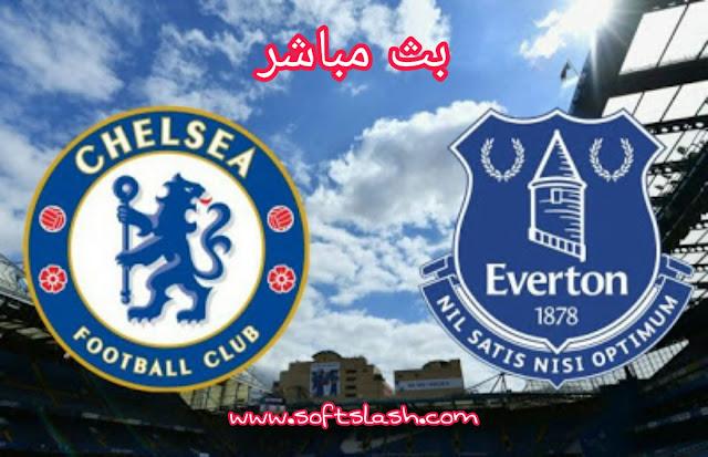 شاهد مباراة Everton vs Chelsea live بمختلف الجودات