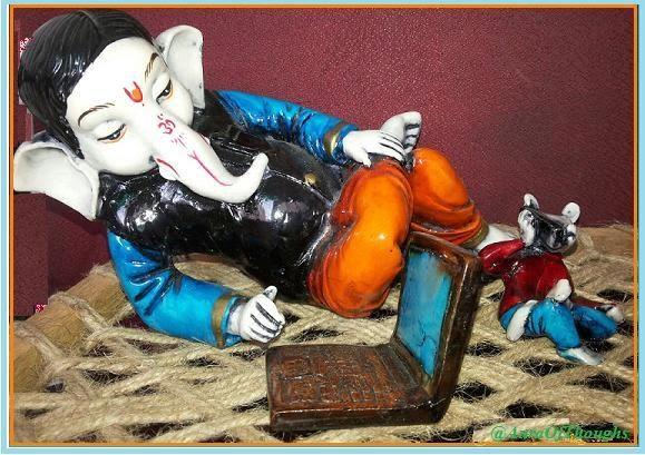 Ganesh chats with Miya - AuraOfThoughts