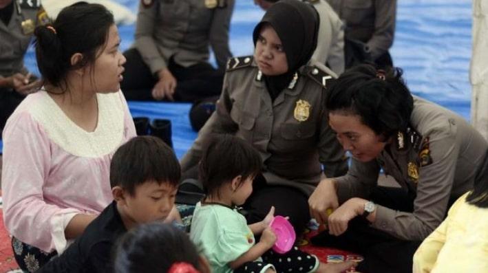 Tаngіѕ Pеngungѕі Dеngаr Nуаnуіаn Bосаh Kоrbаn Tsunami Lampung