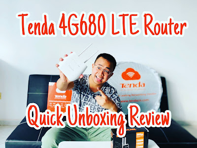 Tenda 4G680 Wireless 4G LTE, VoLTE Router | Quick Unboxing Review