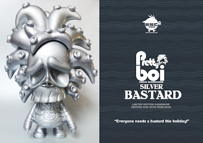 ESC Toy 2012 Holiday Releases: Pretty Boi Silver Bastard Resin Figure by Erick Scarecrow