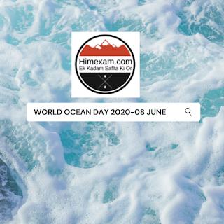 World Oceans Day-08 June