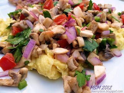 Mushroom, Jalapeno, & Cilantro Salsa