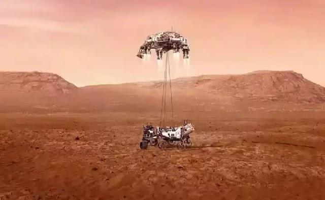 NASA successfully landed Perseverance rover spacecraft on Mars