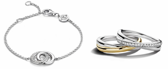Valentine's Day gift, Ti Sento Heart bracelet, heart bracelet