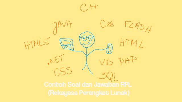 Contoh Soal - Soal dan Jawaban RPL (Rekayasa Perangkat Lunak)