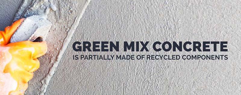 зелёный бетон