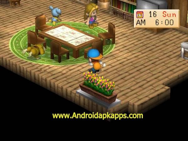 Free Download Game Harvest Moon: Back to Nature Android (Bahasa Indonesia) Terbaru 2015 Gratis