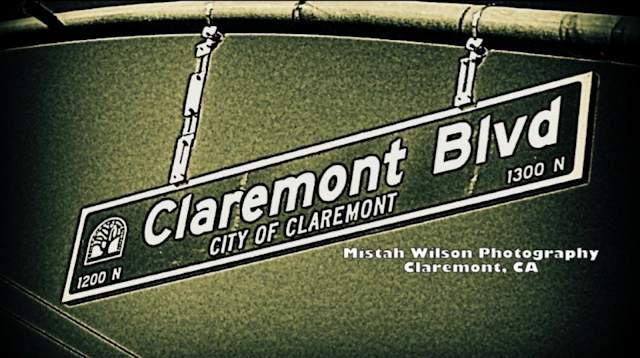 Claremont Boulevard, Claremont, California by Mistah Wilson