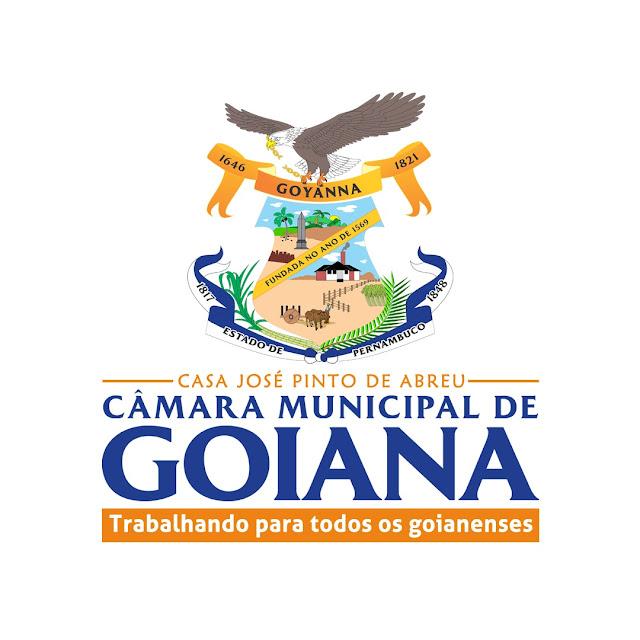 Câmara Municipal de Goiana lança novos logotipo e slogan