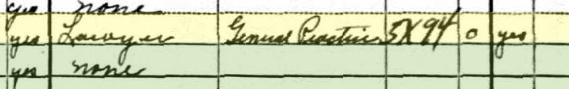 Benjamin Wolf attorney Webster Groves 1930 census