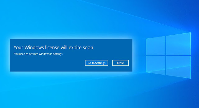 Cara Menghilangkan Peringatan Windows 10 License Expire