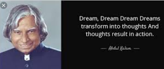 """Dream, dream, dream. Dreams transform into thoughts and thoughts result in action."""