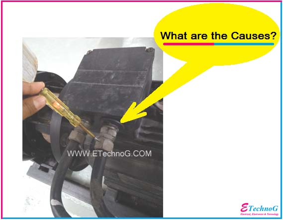 motor body electrical shock