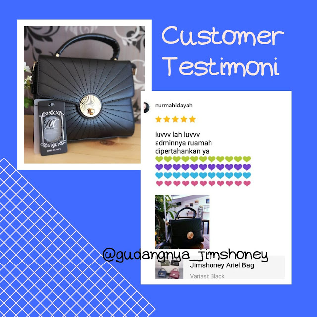Testimoni Tas Jimshoney Ariel Bag